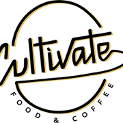 This is the restaurant logo for Cultivate Food and Coffee