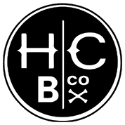 This is the restaurant logo for Hidden Cove Brewing Co