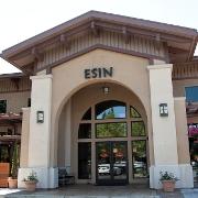 This is the restaurant logo for Esin Restaurant & Bar