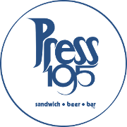 This is the restaurant logo for Press 195