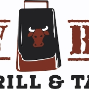 This is the restaurant logo for Cowbell Grill & Tap