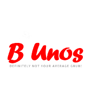 This is the restaurant logo for B-Unos