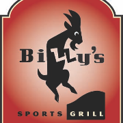 This is the restaurant logo for Billy's Sports Grill