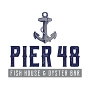 Restaurant logo for Pier 48 Indy