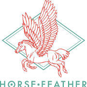 This is the restaurant logo for Horsefeather