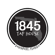 This is the restaurant logo for 1845 Taphouse