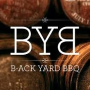 This is the restaurant logo for B-ACK Yard BBQ