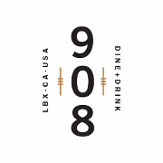 This is the restaurant logo for The 908