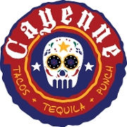 This is the restaurant logo for Cayenne
