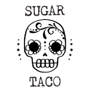 This is the restaurant logo for Sugar Taco (Melrose & La Brea, Hollywood)