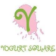 This is the restaurant logo for Yogurt Square