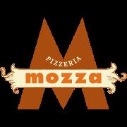 This is the restaurant logo for Pizzeria Mozza