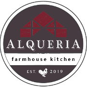 This is the restaurant logo for Alqueria