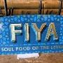 Restaurant logo for FIYA