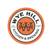 This is the restaurant logo for Wye Hill Kitchen & Brewing