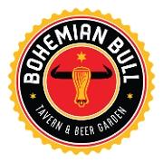 This is the restaurant logo for Bohemian Bull