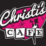 This is the restaurant logo for Christi's Cafe