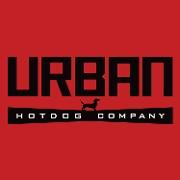 This is the restaurant logo for Urban Hotdog Company