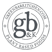 This is the restaurant logo for Green Bar & Kitchen