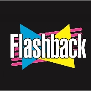 This is the restaurant logo for Flashback