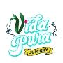 Restaurant logo for Vida Pura Juicery