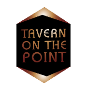 This is the restaurant logo for Tavern on the Point