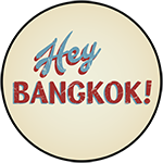 This is the restaurant logo for Hey Bangkok!