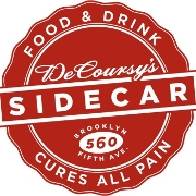 This is the restaurant logo for Sidecar