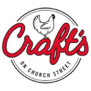 This is the restaurant logo for Craft's on Church St.