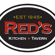 This is the restaurant logo for Red's Kitchen and Tavern