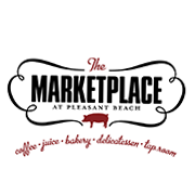 This is the restaurant logo for The Marketplace, Earth & Vine, and The Bottle Shop
