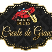 This is the restaurant logo for Backfin Blues Creole De Graw