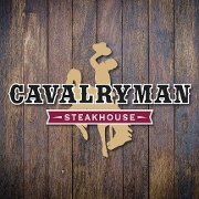 This is the restaurant logo for Cavalryman Steakhouse