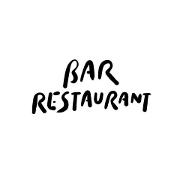 This is the restaurant logo for Bar Restaurant