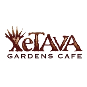 This is the restaurant logo for Xetava Gardens Cafe