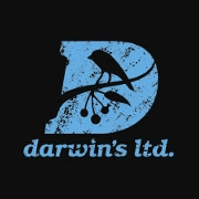 This is the restaurant logo for Darwin's Ltd.