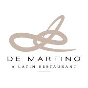 This is the restaurant logo for De Martino Restaurant