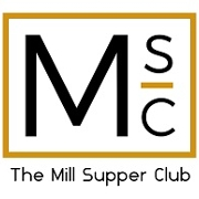 This is the restaurant logo for The Mill Supper Club