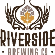 This is the restaurant logo for Riverside Brewing Company