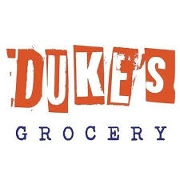 This is the restaurant logo for Duke's Grocery