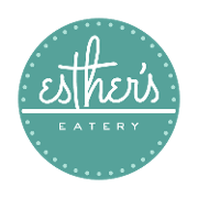 This is the restaurant logo for Esther's Eatery