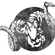 This is the restaurant logo for Crooked Ewe Brewery