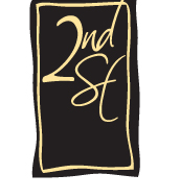 This is the restaurant logo for Second Street American Bistro