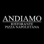 This is the restaurant logo for Andiamo Ristorante & Pizza Napoletana