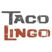This is the restaurant logo for Taco Lingo