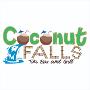 Restaurant logo for Coconut Falls Tiki Bar & Grill