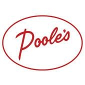 This is the restaurant logo for Poole's Diner