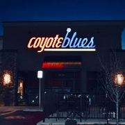 This is the restaurant logo for Coyote Blues