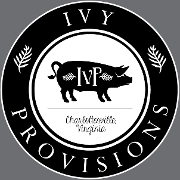 This is the restaurant logo for Ivy Provisions