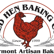 This is the restaurant logo for Red Hen Bakery and Cafe